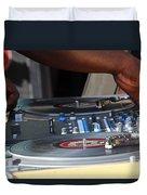 Turntable Duvet Cover