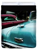Turquoise Bel Air Duvet Cover