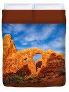 Turret Arch Duvet Cover