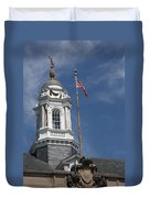 Turret Main Post Office Annapolis Duvet Cover
