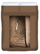 Turret Staircase Duvet Cover