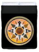 Turtle Mandala Duvet Cover