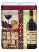 Tuscan Collage 2 Duvet Cover