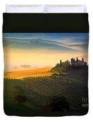 Tuscan Dawn Duvet Cover