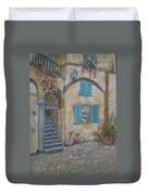 Tuscan Delight Duvet Cover by Mohamed Hirji