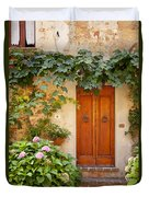 Tuscan Door Duvet Cover