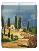 Tuscan Dream 2 Duvet Cover by Debbie DeWitt