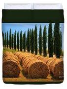 Tuscan Hay Duvet Cover