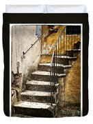 Tuscan Staircase Duvet Cover