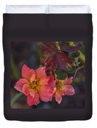 Tuscan Sun Rose Duvet Cover