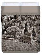 Tuscan Vinyard Duvet Cover