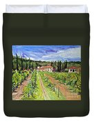 Tuscany Afternoon Duvet Cover