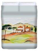 Tuscany-again And Again Duvet Cover