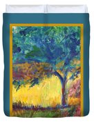 Tuscany Hill Side Shadows Duvet Cover