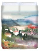 Tuscany Landscape 01 Duvet Cover