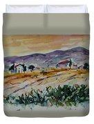 Tuscany Landscape 1 Duvet Cover