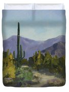 The Serene Desert Duvet Cover