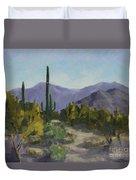 The Serene Desert Duvet Cover