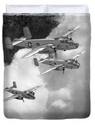 Tuskegee Airman...616th Bombardment Group Duvet Cover
