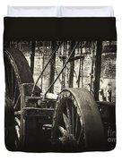 Twenty Mule Team Ore Wagon Duvet Cover