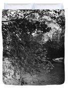Twickenham River Thames Duvet Cover