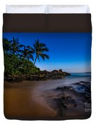 Twilight Beach Duvet Cover