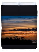 Twilight Colorful Sunset Duvet Cover