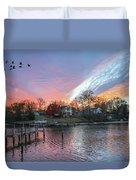 Twilight Colors Duvet Cover