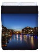 Twilight Docks Duvet Cover
