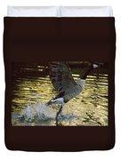 Twilight Goose I Duvet Cover