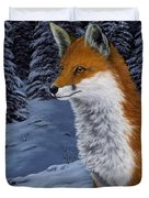 Twilight Hunter Duvet Cover