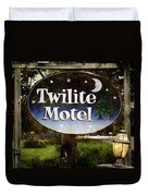 Twilight Motel Duvet Cover