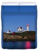 Twilight Nubble Lighthouse Duvet Cover