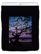 Twilight On Hilo Bay Hawaii Duvet Cover