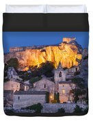 Twilight Over Les Baux Duvet Cover