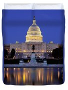 Twilight Over Us Capitol Duvet Cover