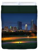 Twilight Skyline Duvet Cover