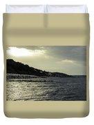 Sunset On The Beach - Twilight Symphony Duvet Cover