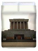 Twilit Ho Chi Minh Mausoleum Duvet Cover