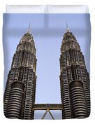 Twilit Petronas Duvet Cover