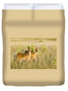 Twin Fawns Duvet Cover