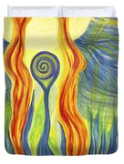 Twin Flames Duvet Cover
