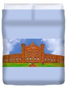 Twin Lights Of Navesink Duvet Cover