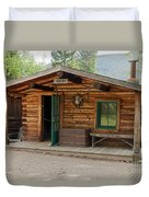 Twin No. 1 Cabin At The Holzwarth Historic Site Duvet Cover