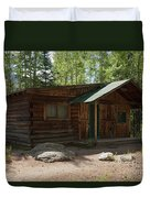 Twin No. 2 Cabin At The Holzwarth Historic Site Duvet Cover