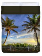 Twin Palms Duvet Cover