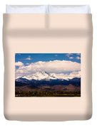 Twin Peaks Snow Covered Duvet Cover
