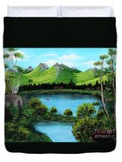 Twin Ponds Duvet Cover