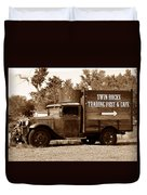 Twin Rocks Trading Post Duvet Cover