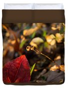 Twin Spotted Wintergreen Pods Duvet Cover